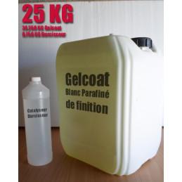 Topcoat / Gelcoat de finition paraffiné 25KG