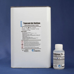 Topcoat / Gelcoat de finition paraffiné 5KG