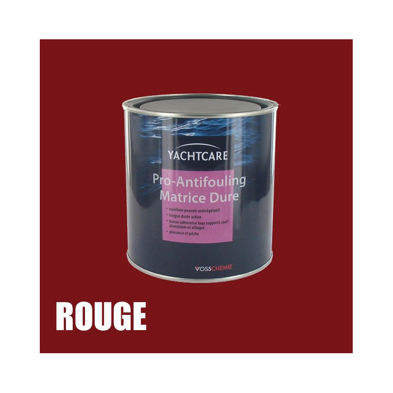 Antifouling Rouge Matrice dure 750 ml